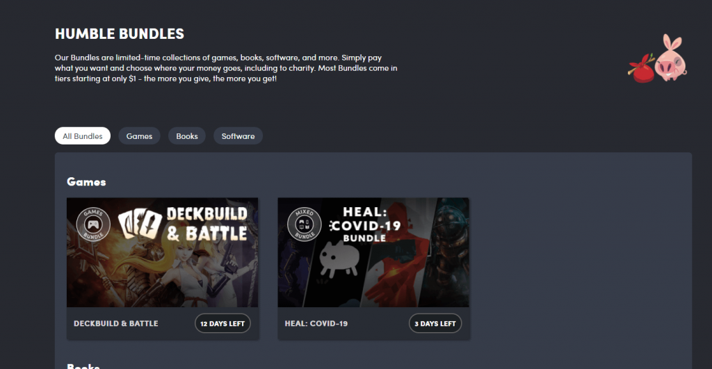 What is the Revenue Model of Humble Bundle? 3