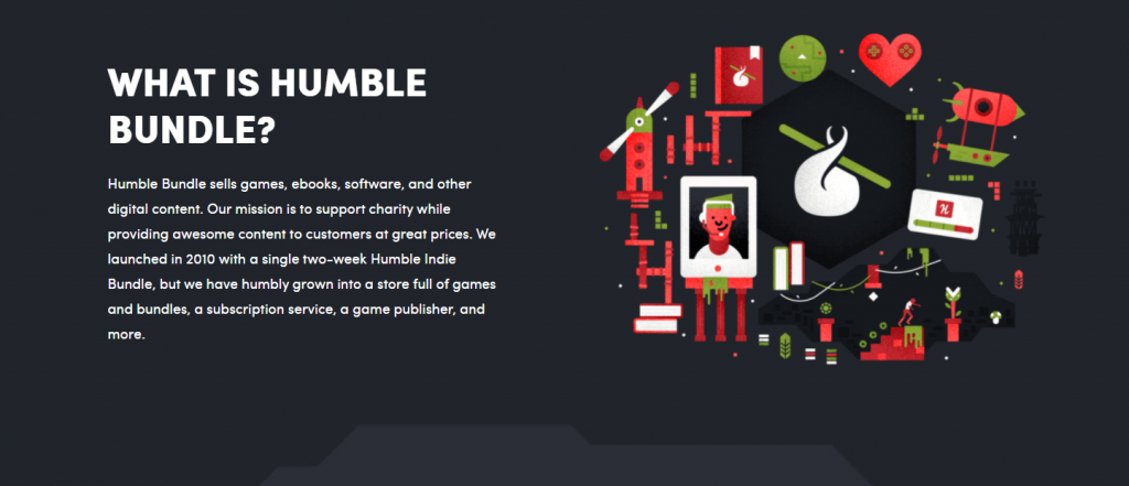 What is the Revenue Model of Humble Bundle? 4