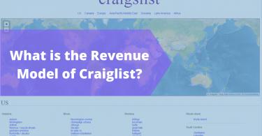 Revenue Model of Craigslist