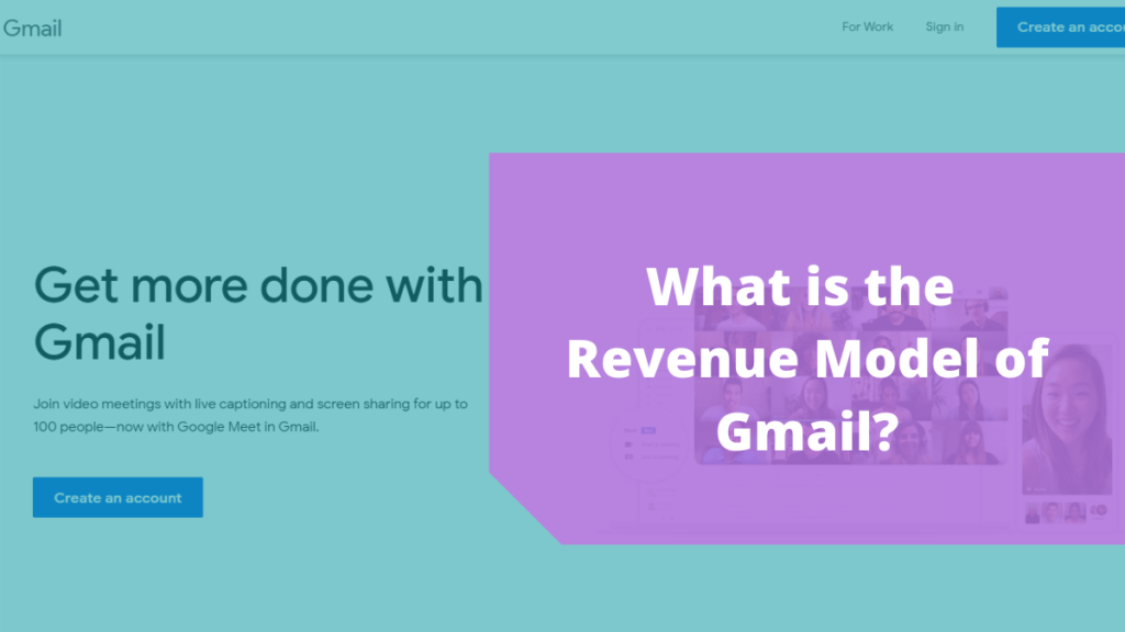 Revenue Model of Gmail