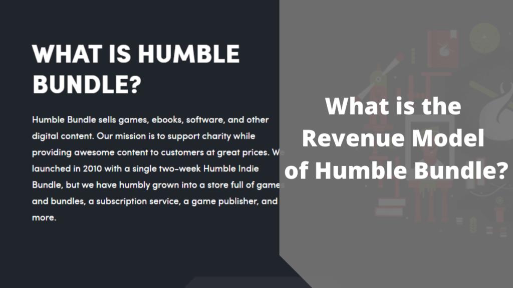 Revenue Model of Humble Bundle