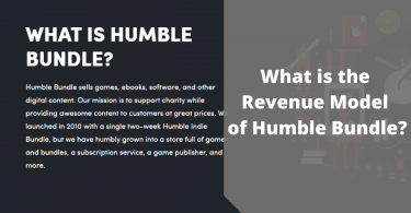 What is the Revenue Model of Humble Bundle? 1